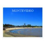 playa de Montevideo Postales