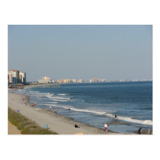 Playa de Myrtle Beach Carolina del Sur Tarjeta Postal