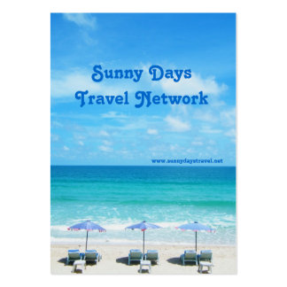 Playa de Naiharn isla de Phuket Plantillas De Tarjeta De Negocio