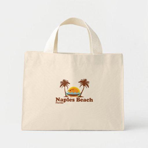 Playa de Nápoles Bolsa Tela Pequeña