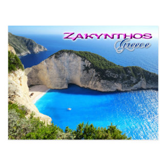 Playa de Navagio, Zakynthos, Grecia Postal