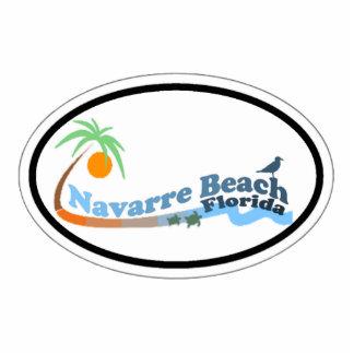 Playa de Navarra Escultura Fotografica