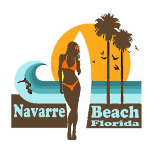 Playa de Navarra Imán Fotoescultura