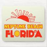 Playa de Neptuno, la Florida Alfombrillas De Ratón