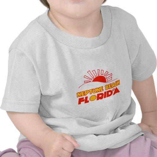 Playa de Neptuno, la Florida Camisetas