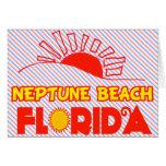 Playa de Neptuno, la Florida Felicitacion