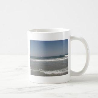 Playa de New Jersey Tazas De Café