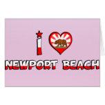 Playa de Newport, CA Felicitacion