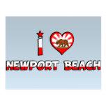 Playa de Newport, CA Postales