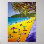 Playa de Noosa Poster