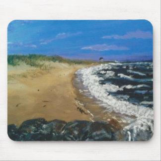 Playa de Nueva Inglaterra Tapetes De Raton