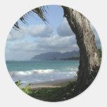 Playa de Oahu Pegatina