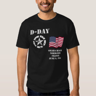 Playa de Omaha, camiseta de Normandía Poleras