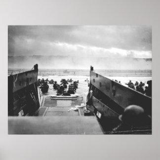 Playa de Omaha, Normandía, día D 1944 Impresiones