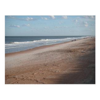 Playa de Ormond de la postal del negocio