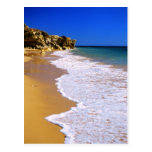 Playa de oro de Portugal Tarjetas Postales
