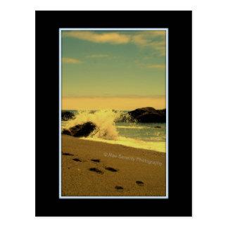 Playa de oro secreta postal