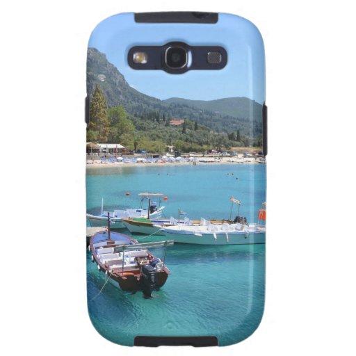 Playa de Paleokastritsa, Corfú Samsung Galaxy SIII Funda