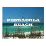 Playa de Pensacola, Costa del Golfo del ~ de la Fl Tarjeta Postal
