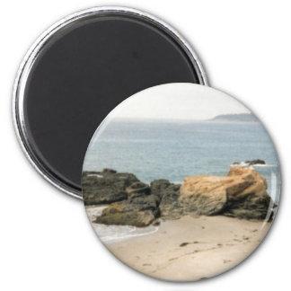 Playa de Pescadero Imán Redondo 5 Cm