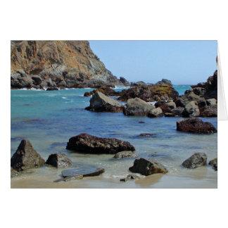 Playa de Pfeiffer; Sur grande, California Tarjeta Pequeña