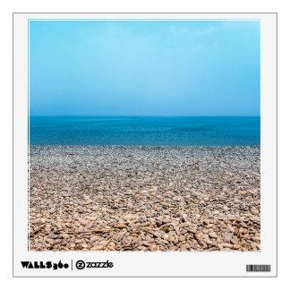 Playa de piedra hermosa vinilo