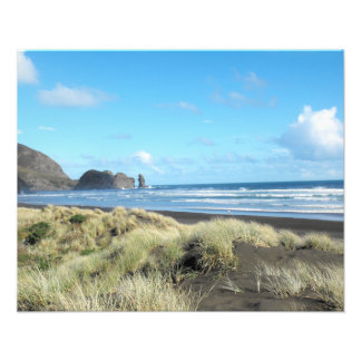 Playa de Piha Impresiones Fotográficas