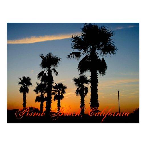 Playa de Pismo, California Tarjetas Postales
