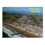 Playa de Pismo, postal de la opinión aérea de Cali