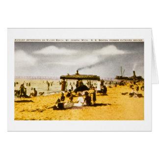 Playa de plata, San José, Michigan Tarjeton