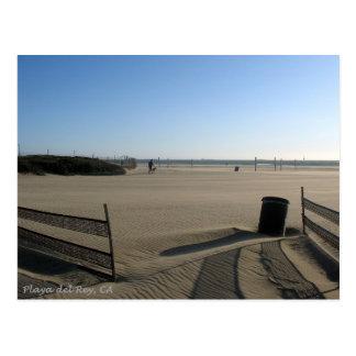 Playa de Playa del Rey tarde en el día - Mike Izzo Tarjeta Postal