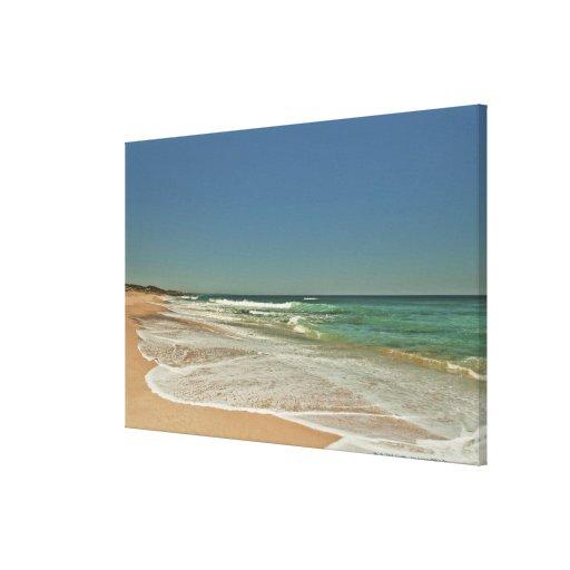 Playa de Portsea, Victoria Lienzo Envuelto Para Galerías