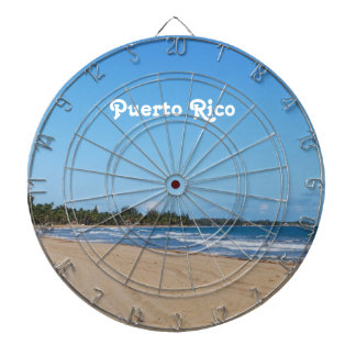 Playa de Puerto Rico Tablero Dardos