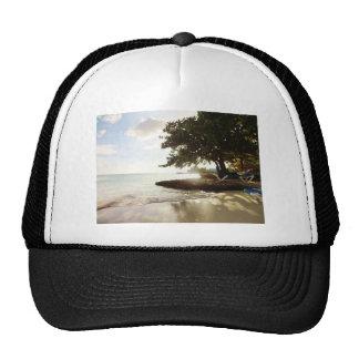 Playa de Punta Canta de la República Dominicana Gorros Bordados