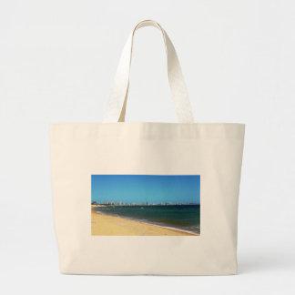 Playa de Punta del Este Bolsa Tela Grande