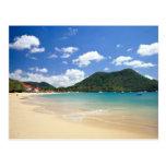 Playa de Reduit, bahía de Rodney, St Lucia Postal