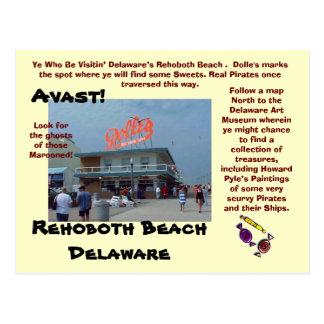 Playa de Rehoboth, Delaware Postales