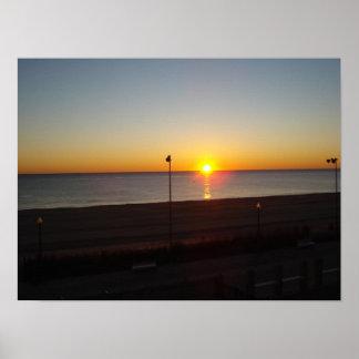 Playa de Rehoboth poster de Delaware