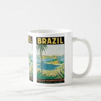 Playa de Río de Janeiro el Brasil Coastal del Taza Clásica