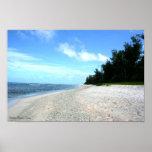 Playa de Ritidian - Guam Posters