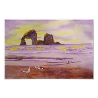Playa de Rockaway Impresiones