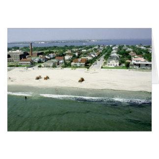 Playa de Rockaway Tarjeta De Felicitación