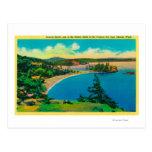 Playa de Rosario en las islas de San Juan, Postal