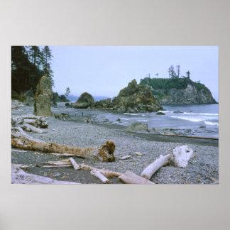 Playa de rubíes Washington Impresiones