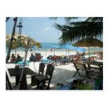 Playa de Sai Kaew del gorra en la KOH Samet Postal