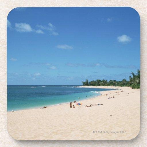 Playa de Sandy 3 Posavasos
