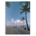 Playa de Sandy 4 Libros De Apuntes Con Espiral