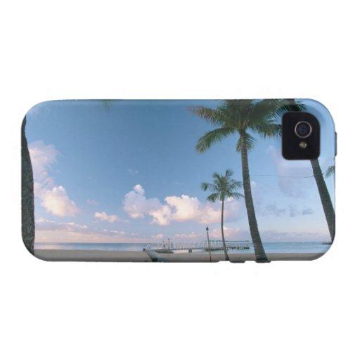 Playa de Sandy 4 Vibe iPhone 4 Carcasas