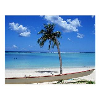 Playa de Sandy 5 Postal