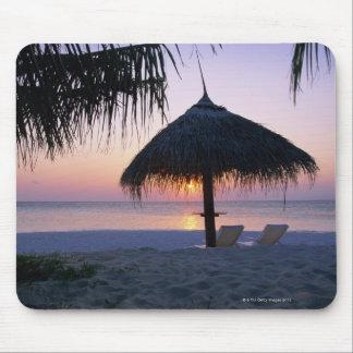Playa de Sandy 6 Alfombrilla De Raton